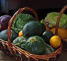 Vegetable Basket by Ruth Durose