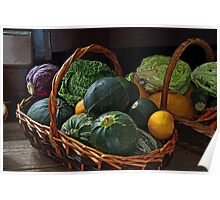 Vegetable Basket Poster