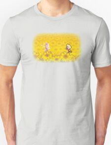 Sunflower Field - Lucas and Hinawa T-Shirt