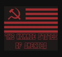 The Kommie States Of America by artpirate