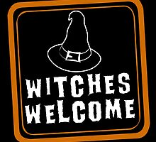 Witches are Welcome by JohnLucke