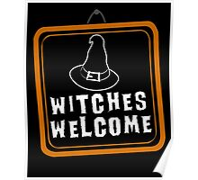 Witches are Welcome Poster
