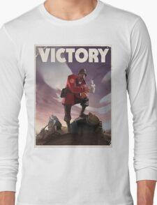 TF2 - Victory Poster/shirt Long Sleeve T-Shirt