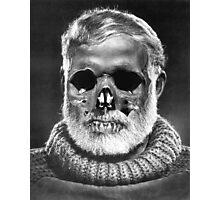 "Ernest ""Skull"" Hemingway Photographic Print"