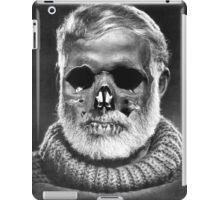 "Ernest ""Skull"" Hemingway iPad Case/Skin"
