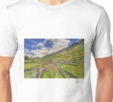 Mountain Meadow in Banff Unisex T-Shirt