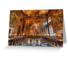 Hall of painting- Greenwich Greeting Card