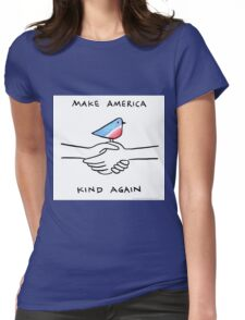 Make America Kind again - by Lauren Scheuer Womens Fitted T-Shirt