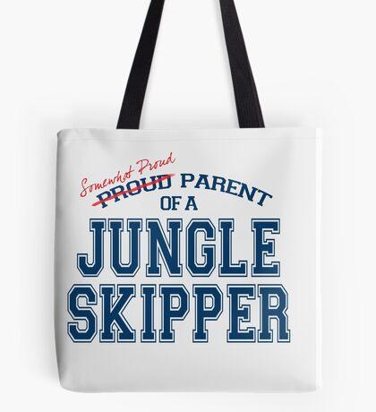 Somewhat Proud Parent of a Jungle Skipper Tote Bag