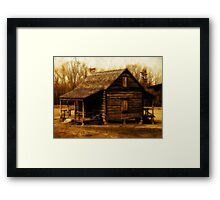 Back in the Day Framed Print