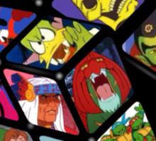 80s Cartoons Sticker