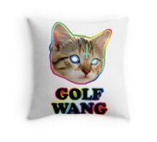 odd future cat  Throw Pillow