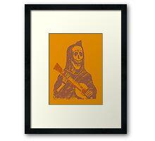 Halloween Minstrell Framed Print