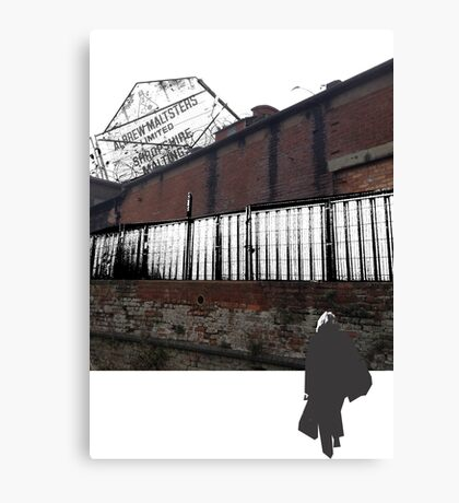 Urban walkthrough Canvas Print