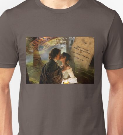 Wedding kiss collage  Unisex T-Shirt