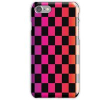Multicoloured Checks iPhone Case/Skin