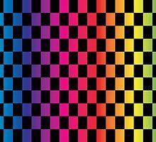 Multicoloured Checks by ArtfulDoodler