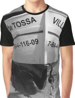 "Barco ""Villa de Tossa"" Graphic T-Shirt"