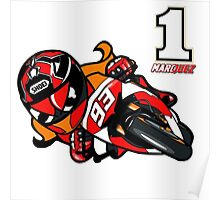 Marc Marquez world champion Poster