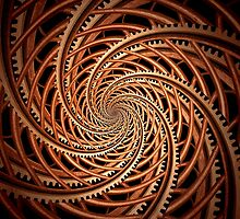 Abstract - Spiral - Mental roller coaster by Mike  Savad