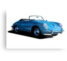 1960 Porsche 356 Cabriolet Metal Print