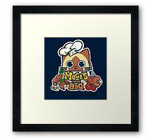 MOGA'S FAMOUS BBQ Framed Print