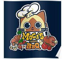 MOGA'S FAMOUS BBQ Poster