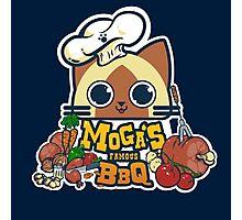 MOGA'S FAMOUS BBQ Photographic Print