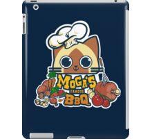 MOGA'S FAMOUS BBQ iPad Case/Skin