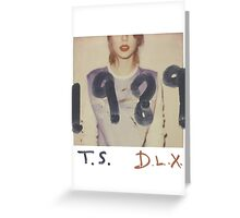 Taylor Swift - 1989 Greeting Card