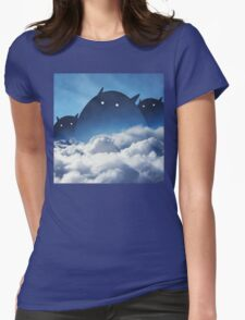 Beyond the Clouds Womens Fitted T-Shirt