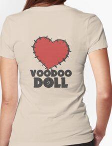 VIXX - voodoo doll heart Womens Fitted T-Shirt