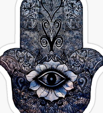 Eye Mandala Like Drawing Sticker