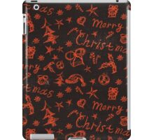 Christmas doodles iPad Case/Skin