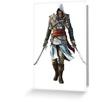 AC Black Flag Greeting Card