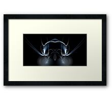 Insectoid Eyes Framed Print