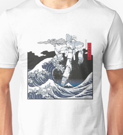 Mecha Wave Unisex T-Shirt
