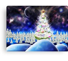 Xmas tree Canvas Print