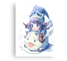 Cute Winter Wonder Lulu - League of Legends! Canvas Print