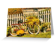 Bike - Zoar, OH - The ride is never over Greeting Card