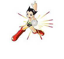 Astro Boy Photographic Print