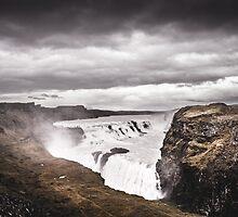 Gullfoss Waterfall by Marsstation