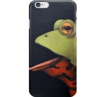 Frog Love -The French Kiss iPhone Case/Skin