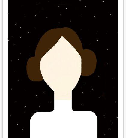 Leia Sticker
