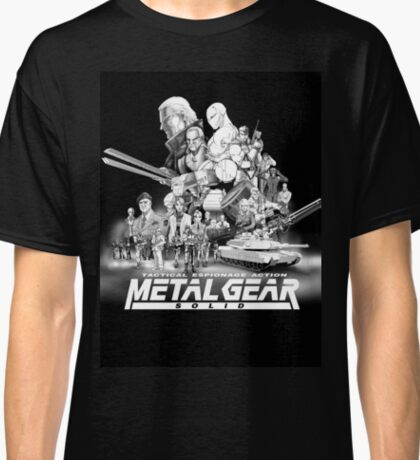 METAL GEAR SOLID 1.0 Classic T-Shirt