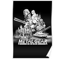 METAL GEAR SOLID 1.0 Poster