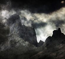The Death of a Mountain. by Kenart