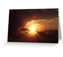 Greet The New Day Greeting Card