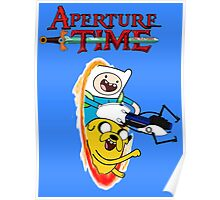 Aperture Time! with Finn and Jake Poster
