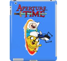 Aperture Time! with Finn and Jake iPad Case/Skin